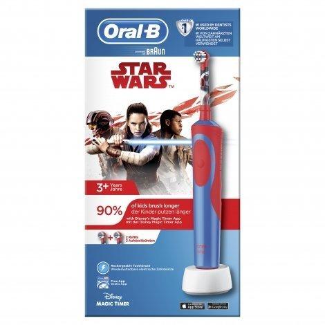 Oral B Vitality Kids Star Wars Brosse à Dents Electrique Rechargeable Enfants pas cher, discount