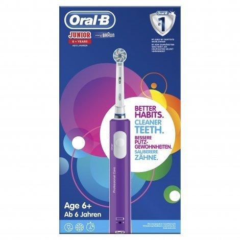 Oral B Brosse à Dents Vitality Junior 6+ purple pas cher, discount