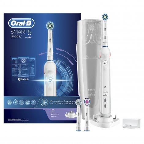 Oral B Smart 5100 White Brosse à Dents Electrique pas cher, discount