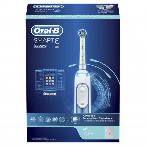 Oral B Smart 6200 Blue Brosse à Dents Electrique pas cher, discount