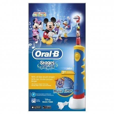 Oral-B Mickey Mouse Brosse à Dent Electrique Enfant pas cher, discount
