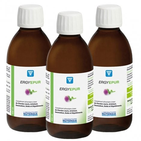 Nutergia Ergyepur 250mlx3 pas cher, discount
