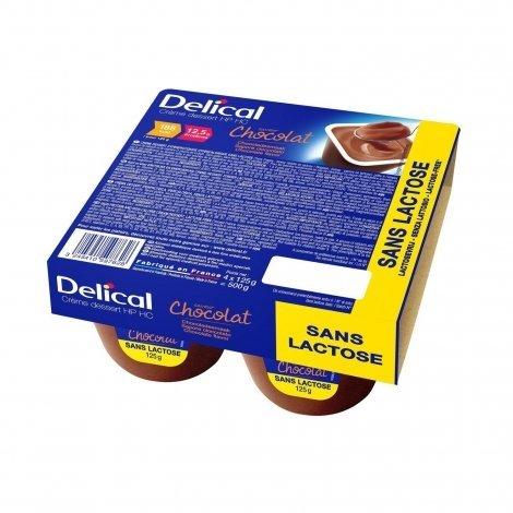 Delical Crème Déssert HP HC Chocolat 4x125g pas cher, discount
