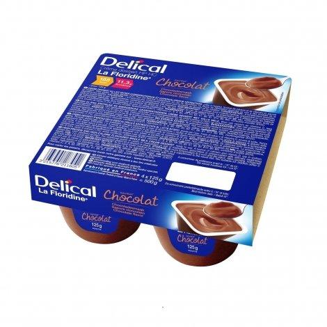 Delical La Floridine Crème Déssert HP HC Chocolat 4x125g pas cher, discount