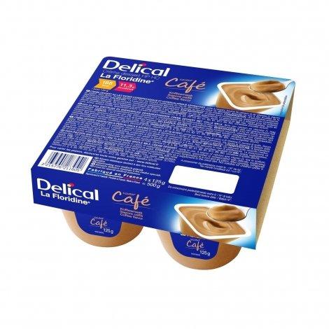Delical La Floridine Crème Déssert HP HC Café 4x125g pas cher, discount