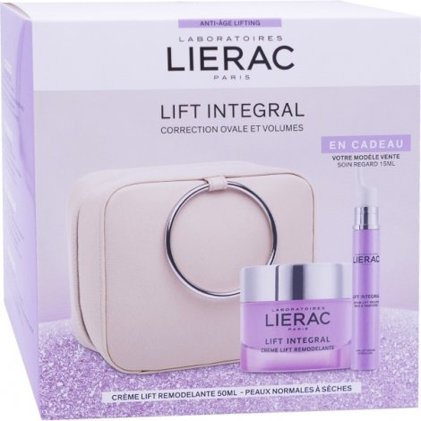Lierac Coffret Lift Integral Crème Lift Remodelante 50ml + Soin Regard 15ml pas cher, discount