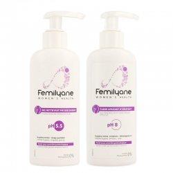 Femilyane Pack Gel Nettoyant Physiologique pH5.5 200ml + Fluide Apaisant Hydratant pH8 200ml