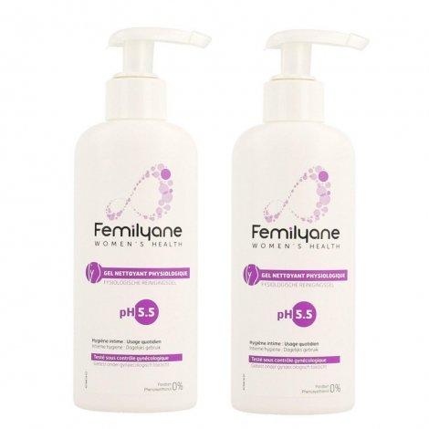 Femilyane Pack Gel Nettoyant Physiologique pH5.5 2x200ml pas cher, discount
