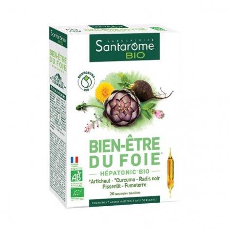 Santarome Bio Bien-Etre du Foie 20 ampoules de 10ml pas cher, discount