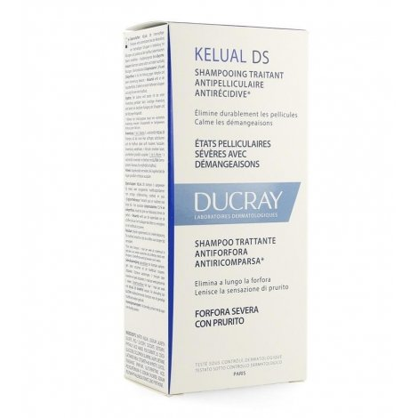 Ducray Kelual DS Shampooing Antipelliculaire Anti-récidive 100ml pas cher, discount