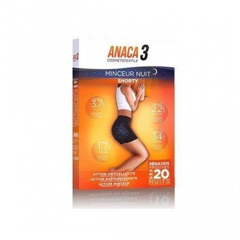 Anaca 3 Cosmétotextile Shorty Minceur Nuit L/XL pas cher, discount