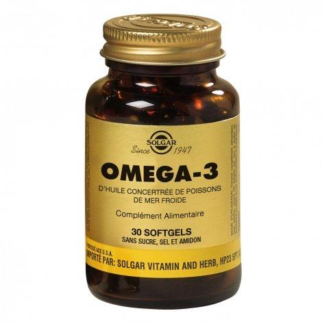 Solgar Omega 3 30 gélules pas cher, discount