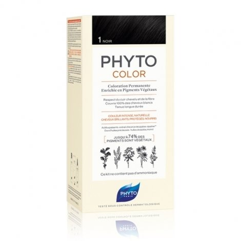 1d7ef2913ba Phyto Color Coloration Permanente 1 Noir