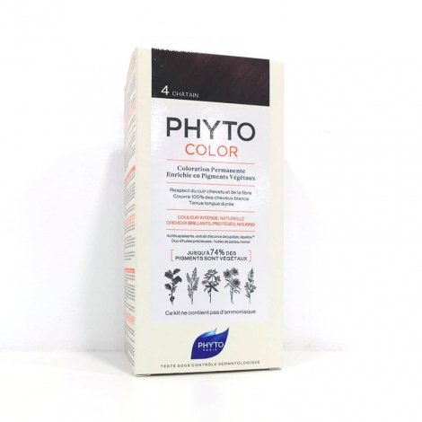 89d3e5d910e Phyto Color Coloration Permanente 4 Châtain