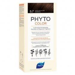 Phyto Color Coloration Permanente 5.7 Châtain Clair Marron