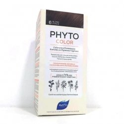 Phyto Color Coloration Permanente 6 Blond Foncé