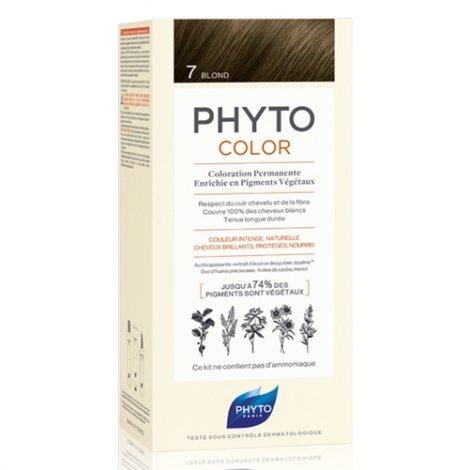 Phyto Color Coloration Permanente 7 Blond pas cher, discount