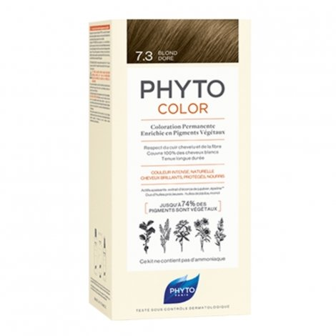 Phyto Color Coloration Permanente 7.3 Blond Doré pas cher, discount