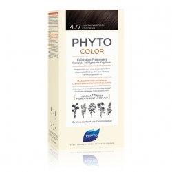 Phyto Color Coloration Permanente 4.77 Châtain Marron Profond