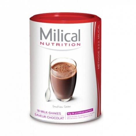 Milical Nutrition 18 Milk-Shakes Chocolat pas cher, discount