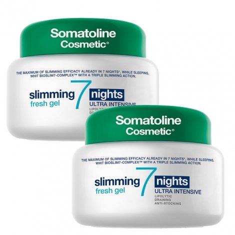 Somatoline Cosmetic Amincissant 7 Nuits Gel Frais Duopack 2x400ml pas cher, discount
