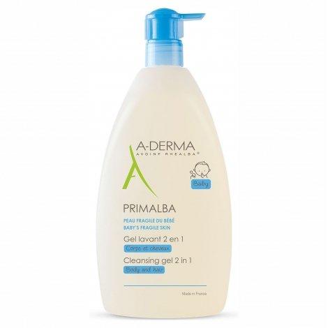A-Derma Primalba Gel Lavant 2 en 1 500ml pas cher, discount