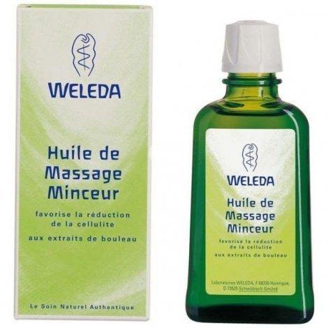 Weleda Huile de massage Minceur 100ml pas cher, discount