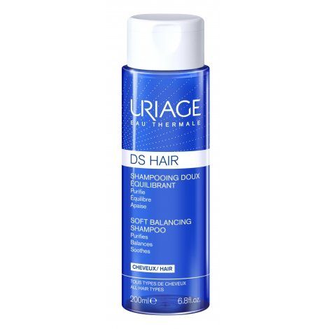 Uriage DS Hair Shampoing Doux Equilibrant 200ml pas cher, discount