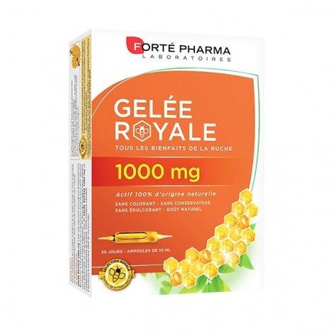 Forte Pharma Gelée Royale 1000mg 20 ampoules de 10ml pas cher, discount
