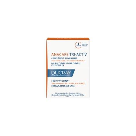 Ducray anacaps tri-activ 30 capsules pas cher, discount