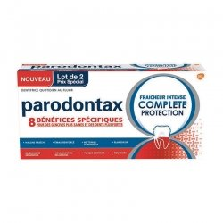 Parodontax Pack Frâicheur Intense Complete Protection 2 x 75ml
