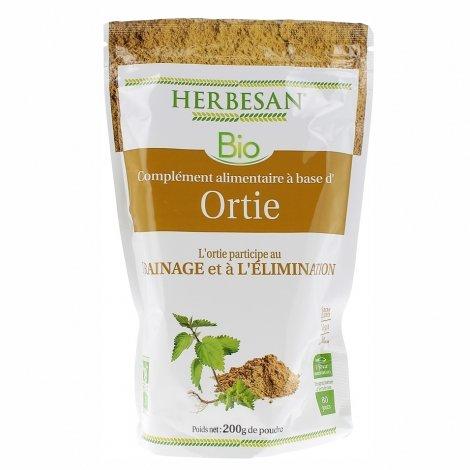Herbesan Bio Ortie 200g pas cher, discount