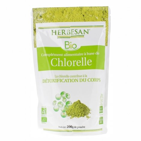 Herbesan Bio Chlorelle 200g pas cher, discount