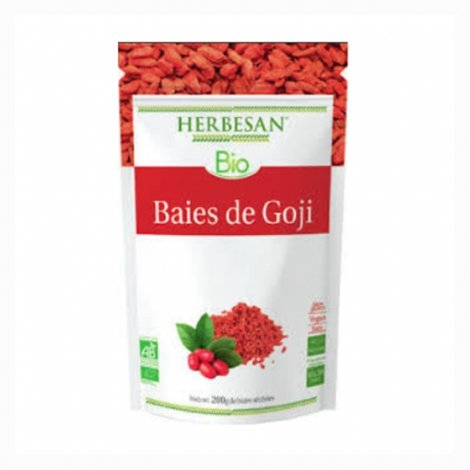 Herbesan Bio Baies de Goji 200g pas cher, discount