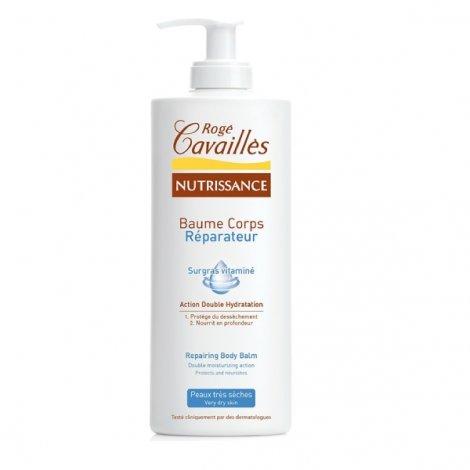 Rogé Cavailles Nutrissance Baume Corps Hydratant Peau Très Sèches 400 ml pas cher, discount