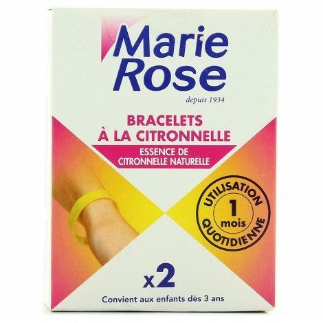 Marie Rose Bracelets à la Citronnelle x2  pas cher, discount