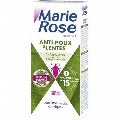 Marie Rose Shampoing Anti-Poux & Lentes Actifs Naturels 125ml pas cher, discount