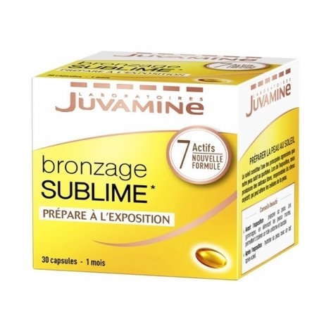 Juvamine Bronzage Sublime Nouvelle Formule 30 capsules  pas cher, discount