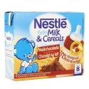Nestle baby milk&cereals chocolat lait    2x250ml