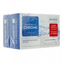 Granions de Chrome Offre Spéciale Lot de 2 x 30 ampoules