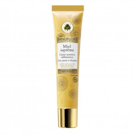 Sanoflore Miel Suprême Crème Nutritive Sublimatrice Lisse Apaise et Illumine 40 ml pas cher, discount