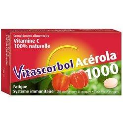 Vitascorbol Acérola 1000 30 comprimés