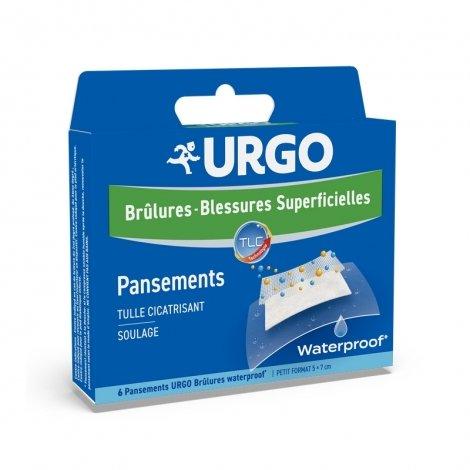 Urgo Brûlures - Blessures Superficielles 6 Pansements Waterproof pas cher, discount