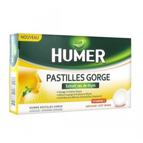 Humer Pastilles Gorge 24 pastilles pas cher, discount
