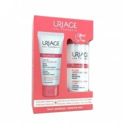 Uriage Roséliane Crème Anti-Rougeurs 40ml + Fluide Dermo-Nettoyant 100ml OFFERT