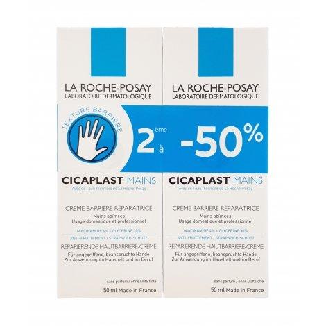La Roche-Posay Cicaplast Mains 2 x 50ml OFFRE SPECIALE pas cher, discount