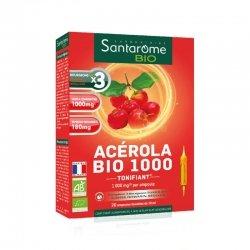 Santarôme Bio Acérola Bio 1000 Ampoules 20 ampoules de 10ml