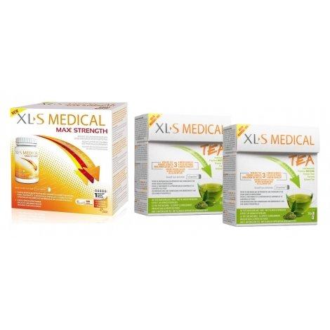 photos officielles 6d3db d6ae0 XLS Medical Pack Max Strength/Extra Fort (120 comprimés) + ...