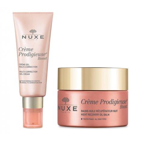 Nuxe Pack Routine Crème Prodigieuse Boost Crème Gel (peau normale) + Baume Nuit pas cher, discount