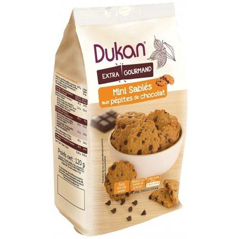 Dukan Mini Sablés aux Pépites de Chocolat 120g pas cher, discount